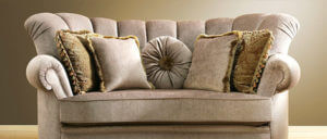 Upholstered couch freshly cleaned by 1800safedry